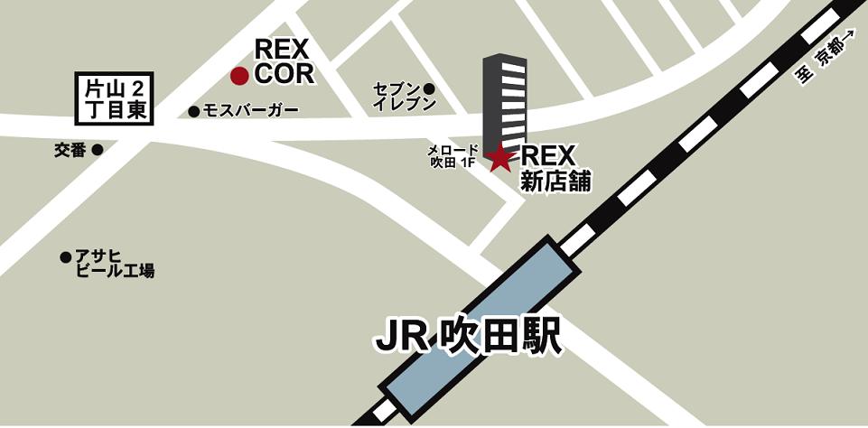 コル仮店舗地図